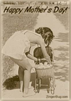 mothers_day_vintage_girl_with_stroller