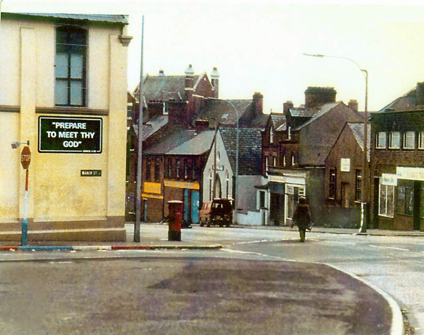 The long walk, A British army bomb disposal specialist approaches a suspect vehicle in Northern Ireland, early '70
