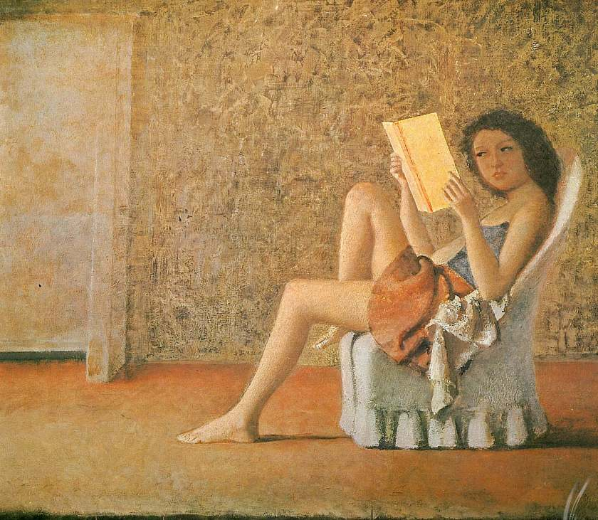 katia-reading-1974 Balthus