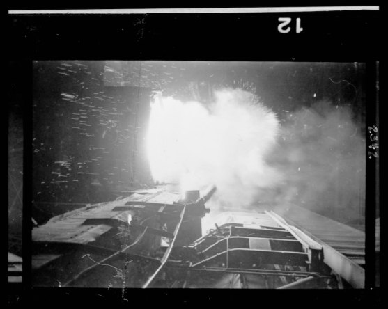 Smelter in a steel mill, Chicago, Illinois