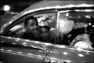 UNITED STATES. New York City.1959. Newlyweds.