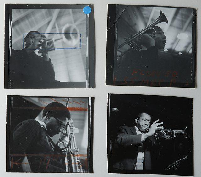 Φωτογραφίες του Francis Wolff από την ηχογράφηση του The Sidewinder, 21 Δεκεμβρίου 1963. © 2014 Mosaic Images