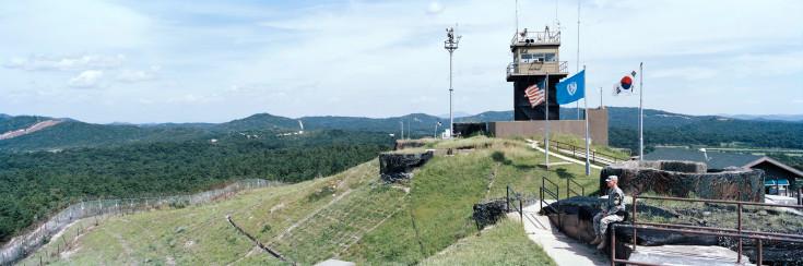 Αποστρατικοποιημένη Ζώνη, Panmunjom, Κορέα, 2009