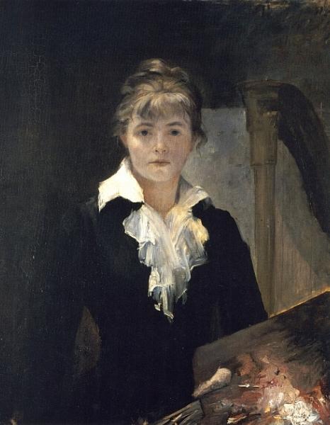 Bashkirtseff αυτοπροσωπογραφία 1880