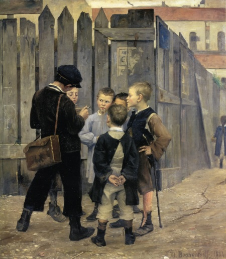 Bashkirtseff_Η συνάντηση 1884
