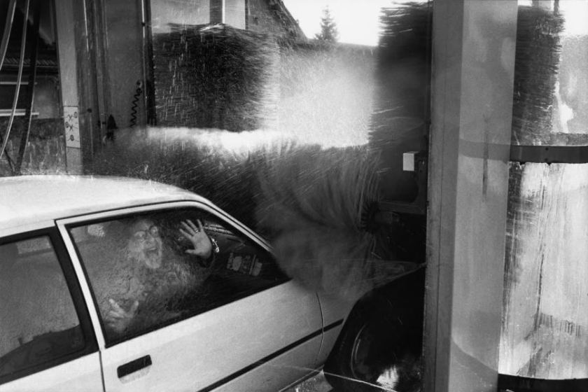 FRANCE. Car wash. 1989.