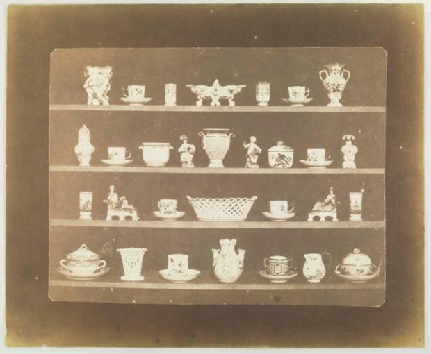 Πορσελάνινα αντικείμενα, 1844, Ουίλιαμ Χένρι Φοξ Τάλμποτ (William Henry Fox Talbot).