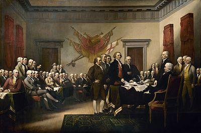 Η Διακήρυξη της Ανεξαρτησίας, έργο τουΤζον Τράμπουλ: η πενταμελής επιτροπή για τη σύνταξη της διακήρυξης παρουσιάζει το έργο της στο Δεύτερο Ηπειρωτικό Κογκρέσο
