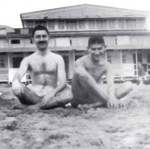 Μαξ Μπροντ και Φραντς Κάφκα, σε νεανικές διακοπές.