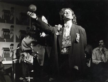 Δέσποινα Τομαζάνη, Παύλος Σιδηρόπουλος, από τις παραστάσεις στο «Κύτταρο»