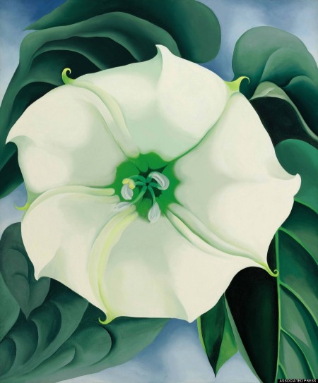 Georgia O'Keeffe Auction