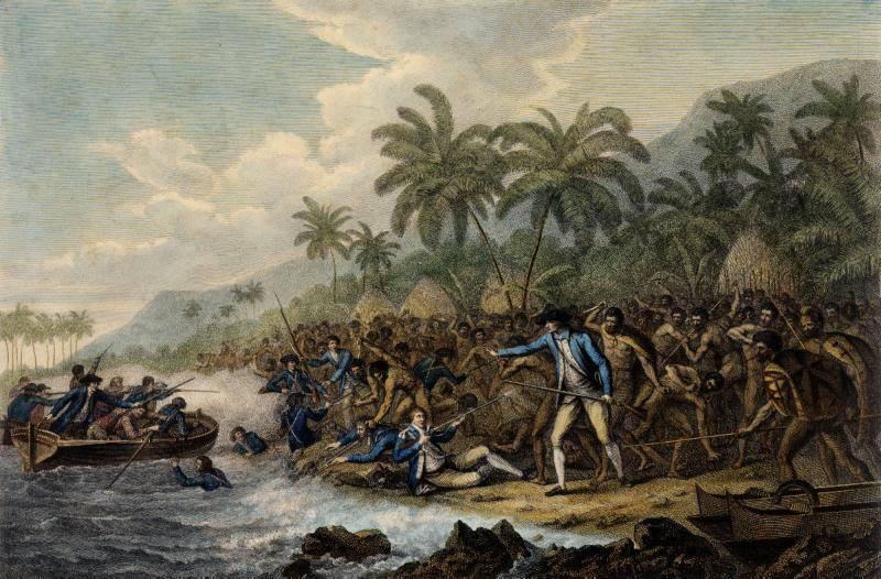 Ο θάνατος του Κουκ στη Χαβάη