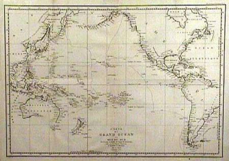 Παγκόσμιος χάρτης διά χειρός Κουκ
