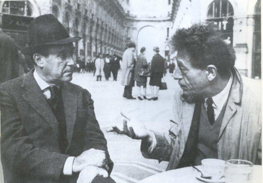 Τσαρούχης Τζιακομέτι στο Μιλάνο 1961