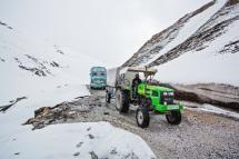 Farm Tractor to Ladakh