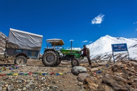 Farm Tractor to Ladakh