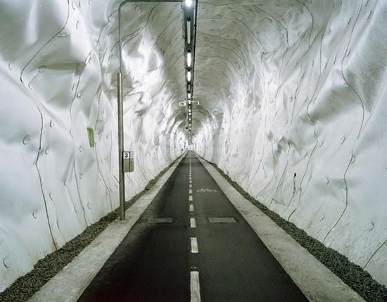 Ποδηλατικό τούνελ, San Sebastian, Ισπανία