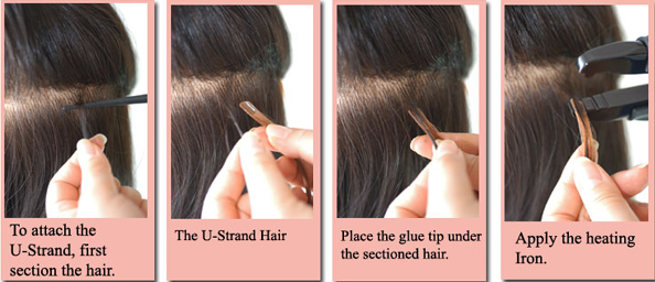 how-to-apply-u-strand-hair-extensions-1