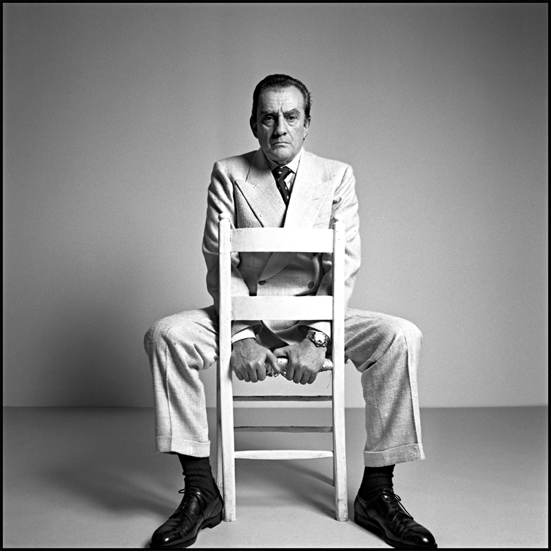 Luchino Visconti by Ugo Mulas, 1969
