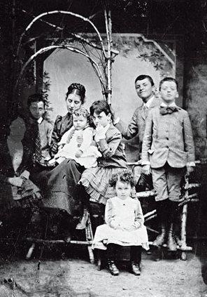 Η οικογένεια Βιτγκενστάιν το 1890