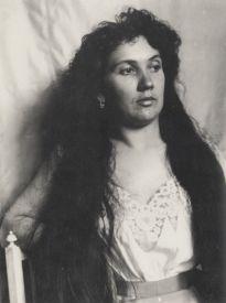 Portrait of Jeanne c 1900