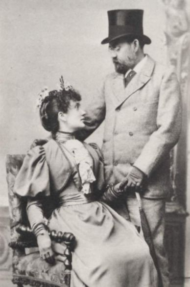Portrait with Jeanne 1893