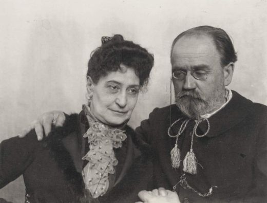 Self-Portrait with Alexandrine