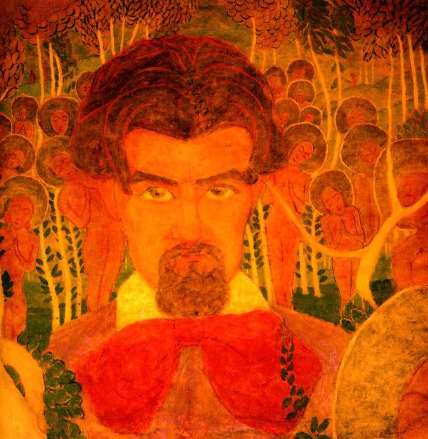 kazimir malevich self-portrait-1907