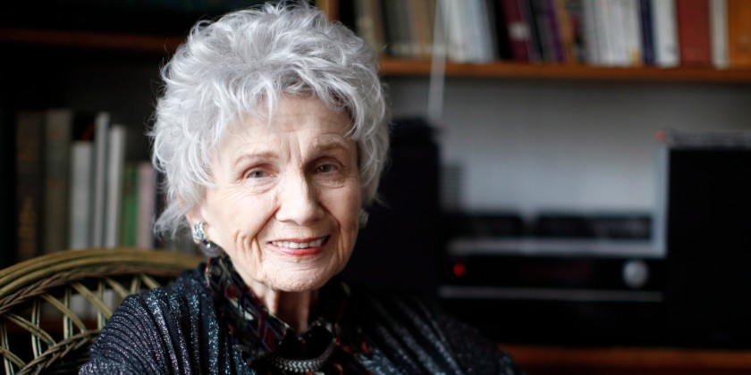 Canadian author Alice Munro is photographed at her daughter Sheila's home during an interview in Victoria, B.C. Tuesday December 10, 2013. Alice's daughter Jenny received the Nobel prize in Literature on her mother's behalf during a ceremony in Stockholm, Sweden. THE CANADIAN PRESS/Chad Hipolito