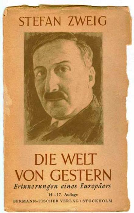Stefan-Zweig-Die-Welt-von-gestern-Ausgabe-1946