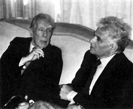 Jacques Derrida and Jorge Luis Borges