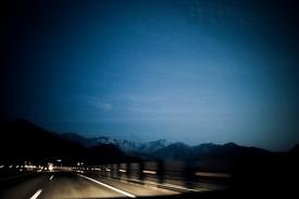 The road to Niigata mountains - 2009