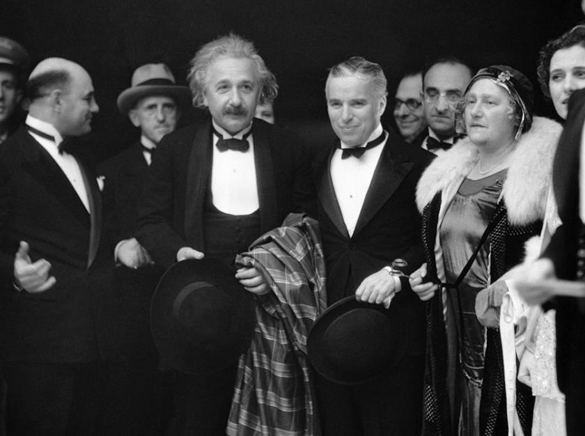 Chaplin and Einstein