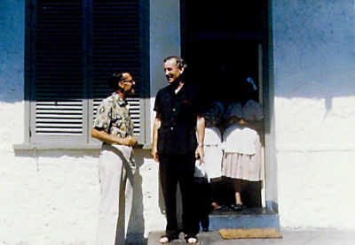 Ian Fleming and ornithologist Terence James Bond