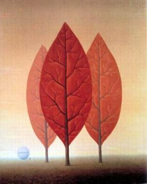 Princes of Autumn Magritte 1963