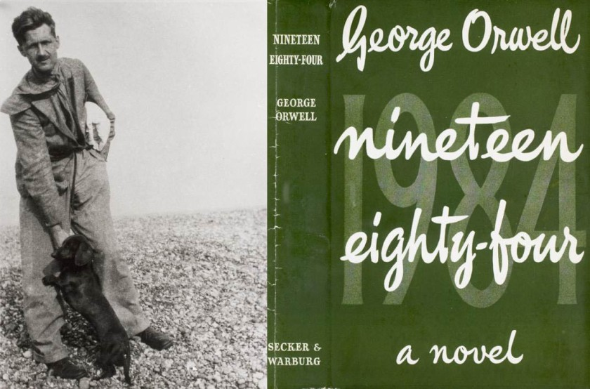 1984 and Orwell COVER