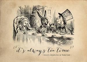 original_alice-in-wonderland-tea-time-print