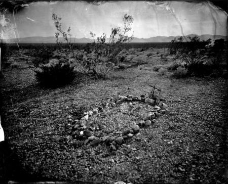 unmarked grave, Nevada