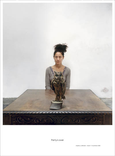 1 © Lydia Dambassina, 2008,  Party's over II, c print, 170X125cm