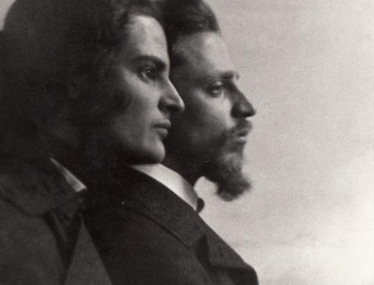 Clara Rilke Westoff & Rainer Maria Rilke ca. 1903