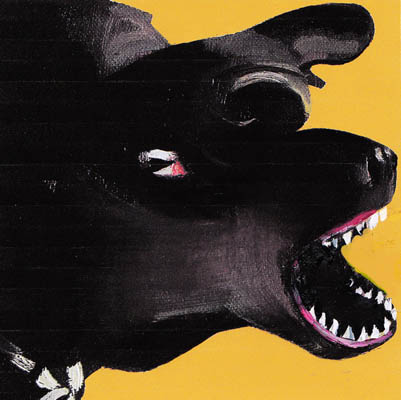 dog-barking-animal-painting-new-expressionism-contemporary-art