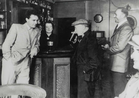 richard-burton-drinking-with-his-father-richard-walter-jenkins-and-brother-in-the-miners-arms-pont-rhyd-y-fen-wales-1953