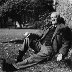 J.R.R. Tolkien. Photo by Billett Potter FAMILY FEATURE DEC. 13, 2001