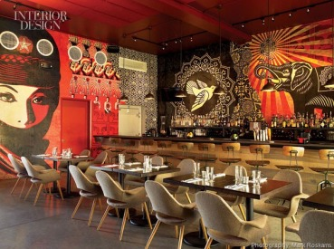 367092-Fairey_s_screen_printed_panels_fitted_together_wrap_the_restaurant_s_lounge_with_its_twee