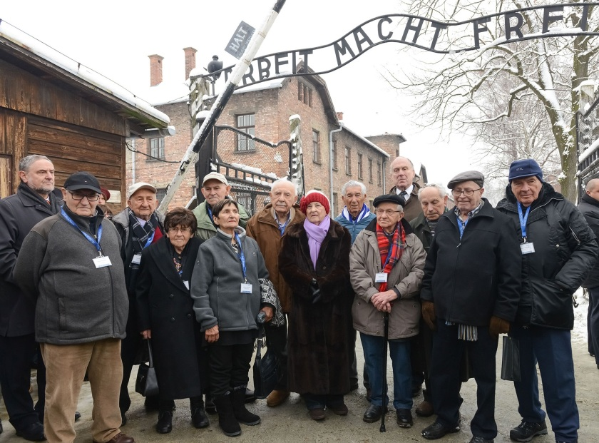 70th Anniversary Commemoration of the Liberation of Auschwitz.