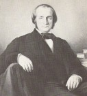 A portrait of Héger, dating from circa 1865