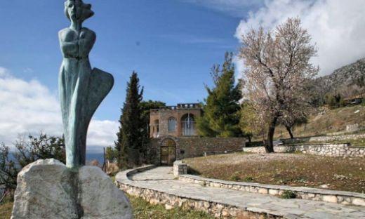 Το σπίτι του Σικελιανού στους Δελφούς