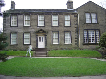 Brontë Parsonage Museum in 2006