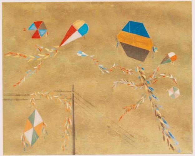 «Χαρταετοί», 1965, Σπύρος Βασιλείου