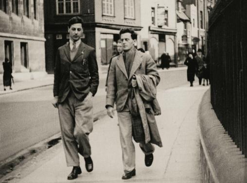 O Wittgenstein και ο Francis Skinner στο Cambridge